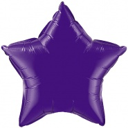 "20""/51cm -Quartz Purple Star - #12645"