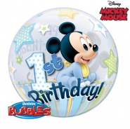 "22""/56 cm - Mickey Mouse 1st Bday - #12864"