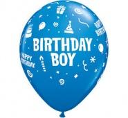 "11""/28 cm - Birthday Boy - 6 szt - #17920"