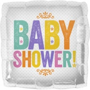 18'/45 CM BABY SHOWER BLOCK LETTERS