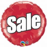 "18""/45CM SALE RED - #51789"