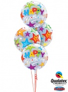 "Bukiet 22""/56 cm - Birthday Brilliant Star - #23595, 23594"