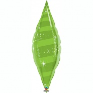 "38""/96cm - Taper Swirl Lime Green - #22825"