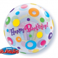 "22""/56 cm - Birthday Cupcake & Dots - #23606"