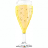 "39""/99 cm - Bubbly Wine Glass - #26373"