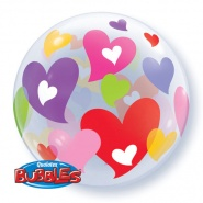 "22""/56 cm - Colorful Hearts - #27406"
