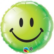 "18""/46 cm - Smiley Face Green - #29628"