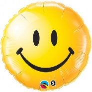 "18""/46 cm - Smiley Face Yellow - #29632"