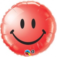 "18""/46 cm - Smiley Face Red - #29636"