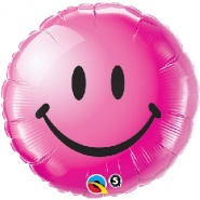 "18""/46 cm - Smiley Face Wild Berry - #29864"