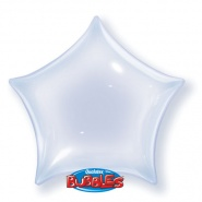 "22""/56 cm - Clear Star Bubble - #38285"