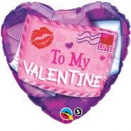 "18""/46 cm - Valentine Sealed With a Kiss - #40855"