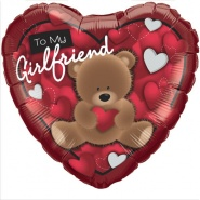 "18""/46 cm - To My Girlfriend Bear - #41324"