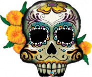"38""/96cm Day Of The Dead Skull - #44228"
