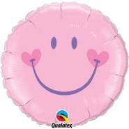 "18""/46 cm - Sweet Smile Face Pink - #99573"