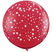 3'/91cm STARS Ruby Red - 1 szt - #29266