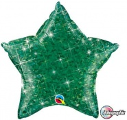 "20""/51cm - Holographic Green Star - #41286"