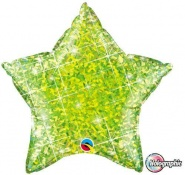 "20""/51cm - Holographic Lime Star - #41298"