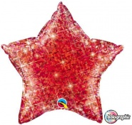 "20""/51cm - Holographic Red Star - #41273"