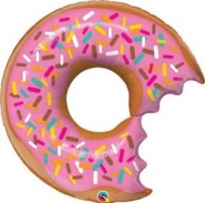 "36""/91cm BIG DONUT AND SPRINKLES FOIL SHAPE #57357"